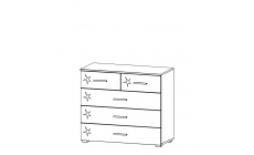 Amalfi - 2+3 Drawer Chest