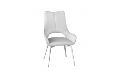 Aristo - Dining Chair In Grey PU