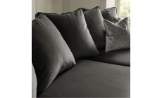 Colorado - Pillow Back Small Chaise Sofa 3 Seat 1 Arm LHF With Chaise RHF In Grade E Fabric