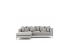 Colorado - Pillow Back Small Chaise Sofa LHF Chaise With 3 Seat 1 Arm RHF