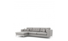 Colorado - Standard Back Large Chaise Sofa LHF Chaise With 3 Seat 1 Arm RHF In Grade E Fabric