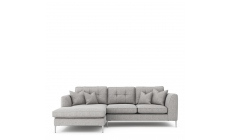 Colorado - Standard Back Small Chaise Sofa LHF Chaise With 3 Seat 1 Arm RHF