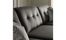 Colorado - Standard Back Small Chaise Sofa LHF Chaise With 3 Seat 1 Arm RHF In Grade E Fabric