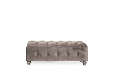 Royale - Deep Buttoned Storage Ottoman