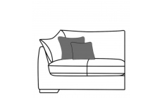 Infinity - Medium Sofa LHF Arm