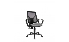 Ergo - Swivel Armchair With Mesh Backrest