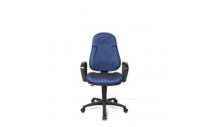 Malaga - Swivel Armchair With Moulded Seat and Back