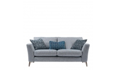 Scala - 2.5 Seat Sofa In Aqua Clean Fabric