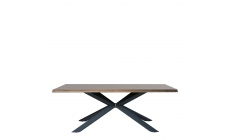Orba - Dining Table 200x100cm Smoked White Wild Oak Veneer