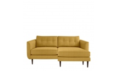 Orla Kiely Linden - Large Chaise Sofa In Fabric