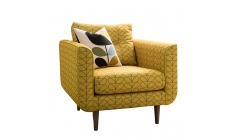 Orla Kiely Linden - Chair In Fabric Print All Over