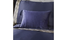 Laurence Llewelyn-Bowen Monoglam Boudoir Cushion Navy
