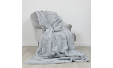 By Caprice Ava Throw 200cm x 150cm Silver