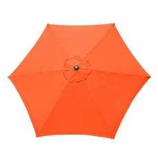 Genoa - 2.5m Orange Garden Parasol