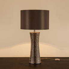 Lahore Table Lamp Silver