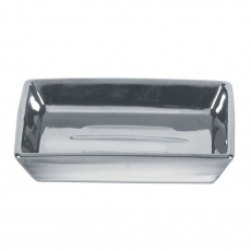 Decadence Soap Dish Silver