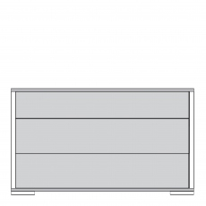 Delano - 60cm 3 Drawer Night Cabinet