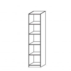 Amalfi - Shelf Unit Height 197cm