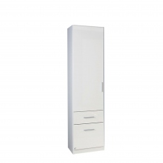 Amalfi - 1 Door 2 Drawer Combi Robe Right Height 210cm