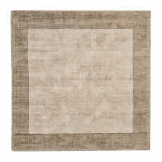 Blade Border Rug Smoke Putty