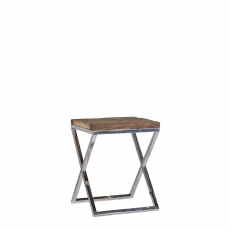 Westwood - Corner Table With Glass Top