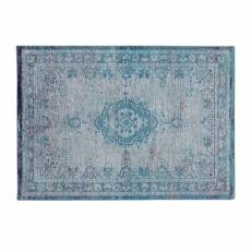 Fading World Rug 8255 Grey Turquoise