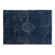Fading World Rug 8254 Blue Night