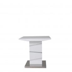 Artemis - Lamp Table White High Gloss