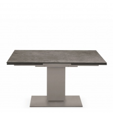 Calligaris Echo - CS/4072-R 120cm Extending Dining Table With Lead Grey Top And Matt Taupe Frame