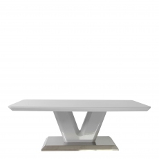Pluto - Coffee Table Grey High Gloss