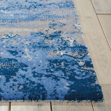 Twilight Rug TWI22 Blue/Grey 236 x 297cm