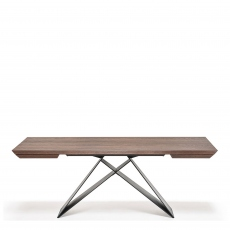 Cattelan Italia Premier Wood Drive - Extending Dining Table 140 x 90cm Extends To 217cm