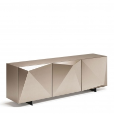 Cattelan Italia Kayak - 3 Door Sideboard In Titanium