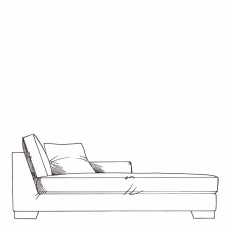 Rousseau - Lounger Unit RHF