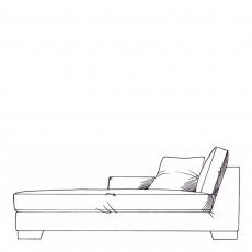 Rousseau - Lounger Unit LHF