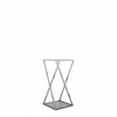 Trento - Large Glass Top Plant Table