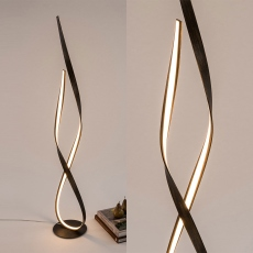 Hue LED Floor Lamp Rust