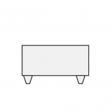 Philo - Rectangular Footstool