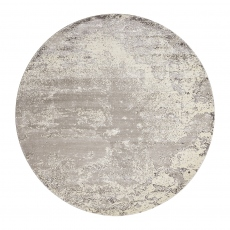 Twilight Rug TWI06 Bone Circle 244cm