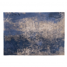 Mad Men Collection Cracks Rug 8629 Abyss Blue 80 x 150cm