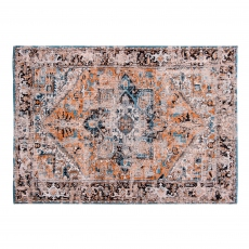 Antiquarian Antique Heriz Rug - 8705 Seray Orange