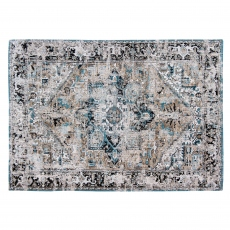 Antiquarian Collection Antique Heriz Rug 8708 Golden Horn Beige 170 x 240cm