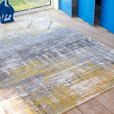 Atlantic Collection Streaks Rug 8715 Sea Bright Sunny 200 x 280cm