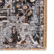Antiquarian Collection Antique Heriz Rug 8707 Divan Blue 230 x 330cm