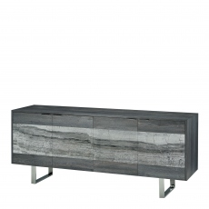 Milano - 4 Door Buffet With Marble Inserts In Cat F