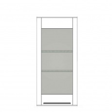 Palma - HW8-401R Right-Mounting Wall Unit