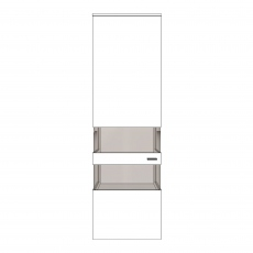 Varenna - HV9-402KL Display Unit With Two Glass Sides With Left Hinge