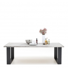 Mondo - Dining Table Straight Edge U-Leg