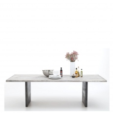 Mondo - Dining Table Straight Edge T-Leg