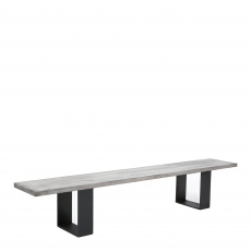 Mondo - Dining Bench Straight Edge U-Leg